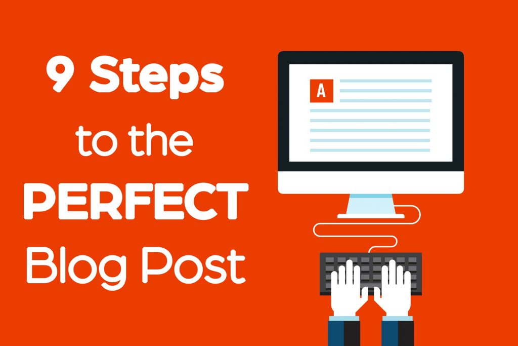 how to write the perfect blog post
